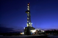 Akita drilling rig 45, near Cold Lake, Alberta, Canada