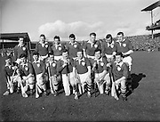 17/03/1961<br /> 03/17/1961<br /> 17 March 1961<br /> Railway Cup Final: Munster v Leinster at Croke Park, Dublin.<br /> Leinster team.