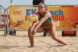 20160724 NED: NK Beachvolleybal 2016, Scheveningen <br />Mexime van Driel <br />©2016-FotoHoogendoorn.nl / Pim Waslander