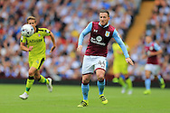 Ross McCormack of Aston Villa in action.EFL Skybet championship match, Aston Villa v Rotherham Utd at Villa Park in Birmingham, The Midlands on Saturday 13th August 2016.<br /> pic by Andrew Orchard, Andrew Orchard sports photography.