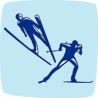 OLYMPIC GAMES VANCOUVER 2010 - VANCOUVER (CAN) - PHOTO : VANOC/COVAN / DPPI<br /> PICTOGRAMS - NORDIC COMBINED
