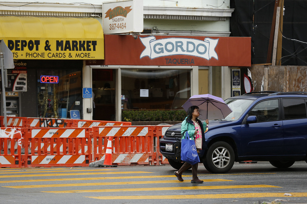 Gordo Taqueria located at 2252 Clement Street on Friday, Feb. 1, 2019, in San Francisco, Calif. This week, news broke that Gordo Taqueria, which has five locations around the Bay Area, had agreed to pay its workers $690,000 in yet another high-dollar, high-profile wage-violation case.
