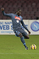 Kalidou Koulibaly Napoli,  <br /> Napoli 26-01-2015 Stadio San Paolo <br /> Football Calcio Serie A Napoli SSC- Genoa CFC<br /> Foto Cesare Purini / Insidefoto