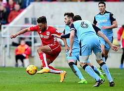 Scott Golbourne of Bristol City drives forward  - Mandatory by-line: Joe Meredith/JMP - 04/02/2017 - FOOTBALL - Ashton Gate - Bristol, England - Bristol City v Rotherham United - Sky Bet Championship