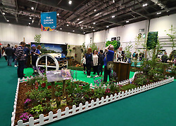May 5, 2019 - London, United Kingdom - The Garden Kitchen exhibit seen during the exhibition..Grand Designs Live exhibition sponsored by Anglian Home Improvements, with more than 500 exhibitors in zones for sustainable technology, self-build, design, grand technology, interiors, kitchens & bathrooms, gardens, food & housewares. The show offers visitors a unique opportunity to see all the latest trends for the home as well as many products never seen before. Based on the Channel 4 TV series and held at Excel London. (Credit Image: © Keith Mayhew/SOPA Images via ZUMA Wire)