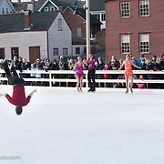 Richard Dornbush performs with Ice Dance International at Strawbery Banke, Portsmouth NH on Jan 14, 2017