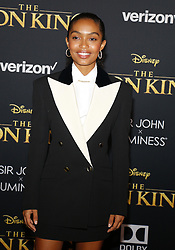 Yara Shahidi at the World premiere of 'The Lion King' held at the Dolby Theatre in Hollywood, USA on July 9, 2019.