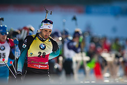 Martin Fourcade (FRA) during the Men 20 km Individual Competition at day 1 of IBU Biathlon World Cup 2019/20 Pokljuka, on January 23, 2020 in Rudno polje, Pokljuka, Pokljuka, Slovenia. Photo by Peter Podobnik / Sportida