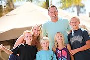 Happy Attractive Family