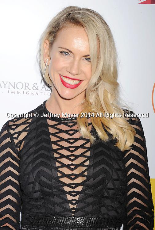 SANTA MONICA, CA- OCTOBER 26: Actress Samantha Rebillet attends the 3rd Annual Australians in Film Awards Benefit Gala at the Fairmont Miramar Hotel on October 26, 2014 in Santa Monica, California.