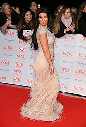 Rebekah Vardy attending the National Television Awards 2018 held at the O2, London. Photo credit should read: Doug Peters/EMPICS Entertainment