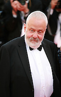 Mike Leigh at the the Mr. Turner gala screening red carpet at the 67th Cannes Film Festival France. Thursday 15th May 2014 in Cannes Film Festival, France.