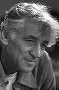 Leonard Bernstein in rehearsal of his 'Mass'  Leonard Bernstein 1918 – 1990) American conductor, composer, author, music lecturer and pianist