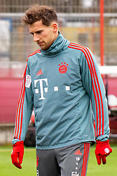 14.03.2019, Säbener Strasse, Muenchen, GER, 1. FBL, FC Bayern Muenchen vs 1. FSV Mainz 05, Training, im Bild Leon Goretzka (FC Bayern) // during a trainings session before the German Bundesliga 26th round match between FC Bayern Muenchen and 1. FSV Mainz 05 at the Säbener Strasse in Muenchen, Germany on 2019/03/14. EXPA Pictures © 2019, PhotoCredit: EXPA/ Lukas Huter