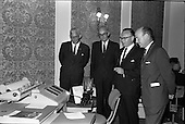 1963 - Opening of Burroughs Business Efficiency Exhibition at the Royal Hibernian Hotel