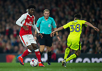 Arsenal's Ainsley Maitland-Niles in action during todays match  <br /> <br /> Photographer Ashley Western/CameraSport<br /> <br /> The EFL Cup 4th Round - Arsenal v Reading - Tuesday 25th October 2016 - Emirates stadium - London<br />  <br /> World Copyright © 2016 CameraSport. All rights reserved. 43 Linden Ave. Countesthorpe. Leicester. England. LE8 5PG - Tel: +44 (0) 116 277 4147 - admin@camerasport.com - www.camerasport.com