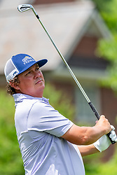 May 4, 2019 - Charlotte, NC, U.S. - CHARLOTTE, NC - MAY 04: Jason Dufner hits from the tee box on the 4th hole during the third round of the Wells Fargo Championship at Quail Hollow on May 4, 2019 in Charlotte, NC. (Photo by William Howard/Icon Sportswire) (Credit Image: © William Howard/Icon SMI via ZUMA Press)