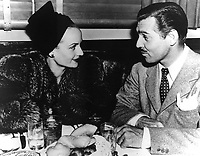1940 Clark Gable & Carole Lombard at The Brown Derby