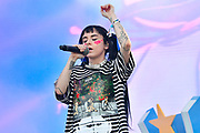 MANCHESTER, TENNESSEE - JUNE 14: DUCKY performs onstage at The Other Tent during the 2019 Bonnaroo Arts And Music Festival on June 14, 2019 in Manchester, Tennessee.