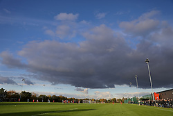 WREXHAM, WALES - Monday, October 28, 2019: A general view during the 2019 Victory Shield match between Wales and Northern Ireland at Colliers Park. (Pic by David Rawcliffe/Propaganda)