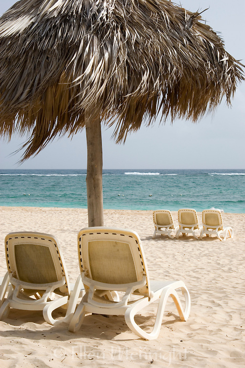 Beach scene in Punta Cana