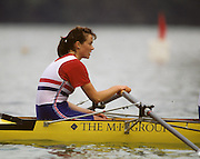 Bled, Slovenia, YUGOSLAVIA. GBR W4X, Suzanne KIRK,1989 World Rowing Championships, Lake Bled. [Mandatory Credit. Peter Spurrier/Intersport Images]