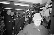 15/02/1963<br /> 02/15/1963<br /> 15 February 1963<br /> Opening of new 5 Star Supermarket at St Agnes Road in Crumlin, Dublin. Picture shows: the crowds entering the store past the pleased management.