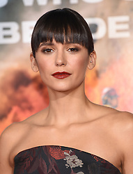 October 8, 2017 - Westwood, California, U.S. - Nina Dobrev arrives for the premiere of the film 'Only The Brave' at the Village Theatre. (Credit Image: © Lisa O'Connor via ZUMA Wire)