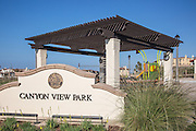 Canyon View Park at Sea Summit San Clemente