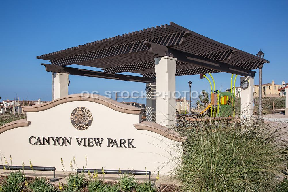 Canyon View Park at Sea Summit San Clemente