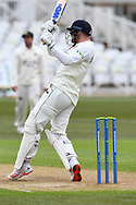 Jack Burnham of Durham during the LV= Insurance County Championship match between Nottinghamshire County Cricket Club and Durham County Cricket Club at Trent Bridge, Nottingham, United Kingdom on 10 April 2021.