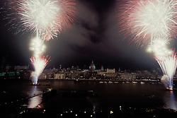 Millennium New Year's Eve, 31 December 1999, London UK
