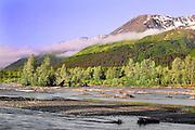 Alaska, Exit Glacier Road, Seward