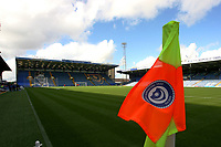 Football - 2016 / 2017  League Two - Portsmouth vs.Doncaster Rovers<br /> <br /> A general view of at Fratton Park with a corner flag depicting the Pompey Supporters Trust 2009 badge that saved the club from going out of business<br /> <br /> Colorsport/Shaun Boggust