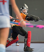 NK Zaalhockey. Hurley - Gooische   meisjes MC .   Gooische,   wint finale .    KNHB / KOEN SUYK