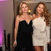 Hofit Golan and Maja Malnar attend the BritAsiaTV Presents Kuflink Punjabi Film Awards 2019 at Grosvenor House, Park Lane, London,United Kingdom. 30 March 2019