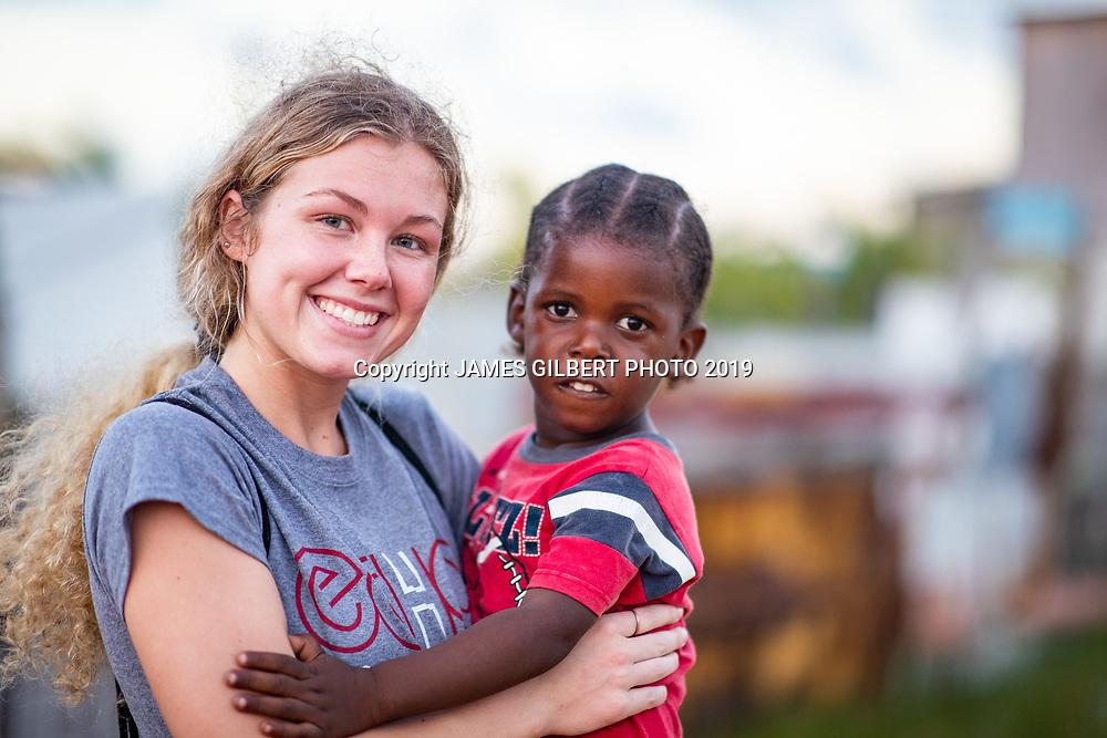 Payton Clark <br /> <br /> St Joe mission trip to Belize 2019. JAMES GILBERT PHOTO 2019