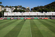 Pitch at Fluminense's old football ground, now used for training and special community events, Laranjeiras, Rio de Janeiro.