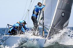, Kiel - Kieler Woche 17. - 25.06.2017, J-24 - GBR 4270 - Jolly Roger - Roger Morris - Parkstone Yacht Club
