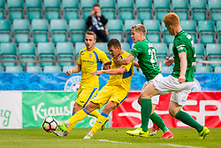 Lovro Bizjak of NK Domzale during 2nd leg match of 1st Round Qualifications for European League between FC Flora and NK Domzale, on July 7, 2017 on Le Coq Arena, Tallinn, Estonia. Photo by Ziga Zupan / Sportida