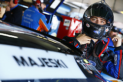 April 27, 2018 - Talladega, Alabama, United States of America - Ty Majeski (60) straps into his car to practice for the Spark Energy 300 at Talladega Superspeedway in Talladega, Alabama. (Credit Image: © Chris Owens Asp Inc/ASP via ZUMA Wire)
