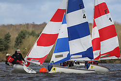 The elite of British university team racers, 128 sailors, raced at Strathclyde Loch, 28 teams representing 21 universities, to compete in the British Universities and Colleges Sport Team Racing Championship Finals. Organised by the British Universities Sailing Association in conjunction with the University of Strathclyde Sailing Club.