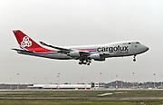 LX-RCV Cargolux Italia Boeing 747-4R7F at Milan - Malpensa