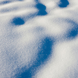 Snow patterns in Swanzey, New Hampshire.