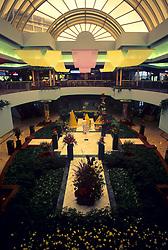 Stock photo of the Houston Galleria in springtime.