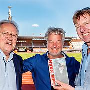 NLD/Amsterdam/20180503 - Beste Vriend Andere Tijden Sport en Olympisch Stadion, Arie Haan, schriver Jules van der Wardt en Aad de Mos