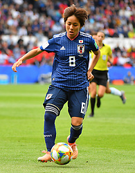 Iwabuchi during the FIFA Women's World Cup group D first round soccer match between Argentina and Japan at Parc des Princes Stadium in Paris, France on June 10, 2019. The FIFA Women's World Cup France 2019 will take place in France from 7 June until 7 July 2019. Photo by Christian Liewig/ABACAPRESS.COM