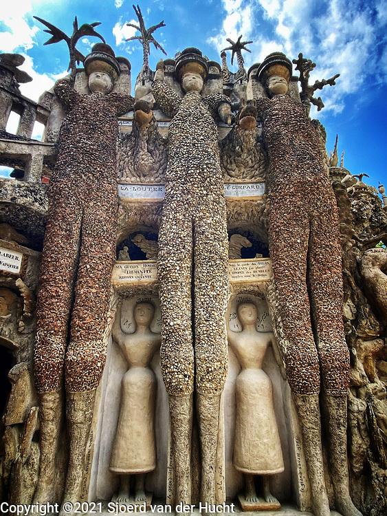 Hauterives, France, home to Ferdinand Cheval's self-made Palais idéal