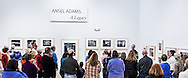 """Kenton Rowe talking about the Ansel Adams 1937 Photograph """"Clearing Winter Storm"""" during a 2013 lecture at the Holter Museum of Art in Helena, MT"""