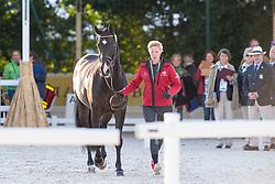 Nathalie Zu Sayn - Wittgenstein, (DEN), Digby - Horse Inspection Dressage - Alltech FEI World Equestrian Games™ 2014 - Normandy, France.<br /> © Hippo Foto Team - Leanjo de Koster<br /> 25/06/14
